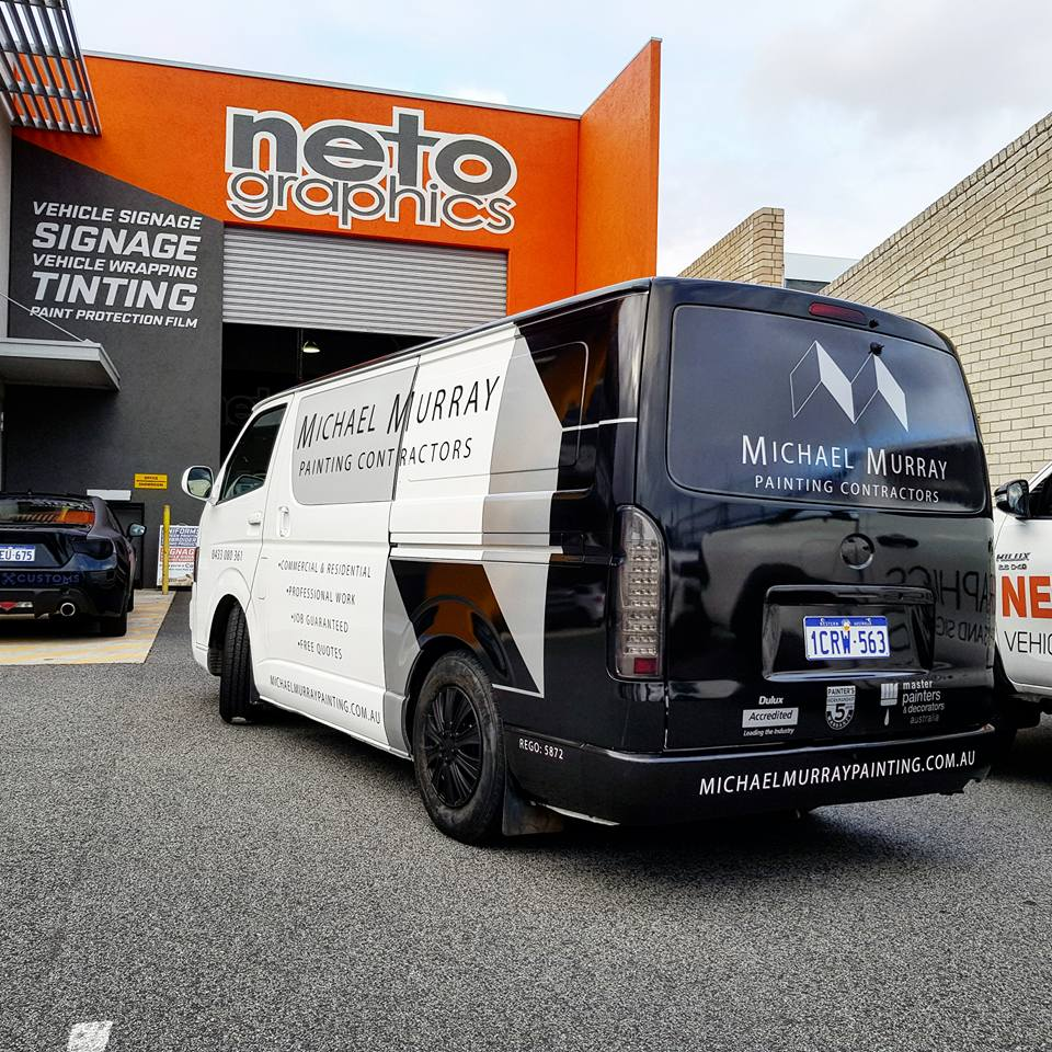 8226805106 Neto Graphics - Specialists in Vehicle Signage and Wrapping Perth